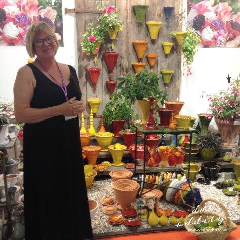 Tina Hellman from Sturehofs Krukmakeri