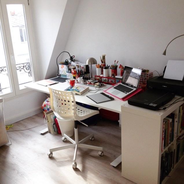 New desk!
