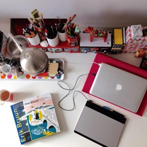 Working corner
