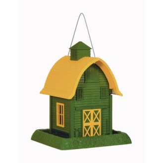 North States Green Barn Bird Feeder | $21.99