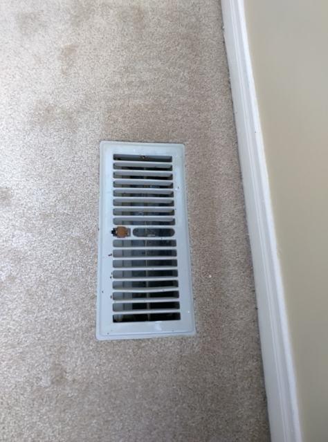 Воздуховод в полу