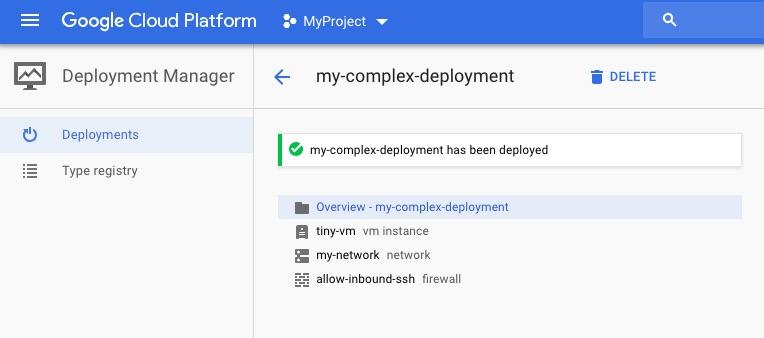 Автоматизация инфраструктуры в GCP с Deployment Manager