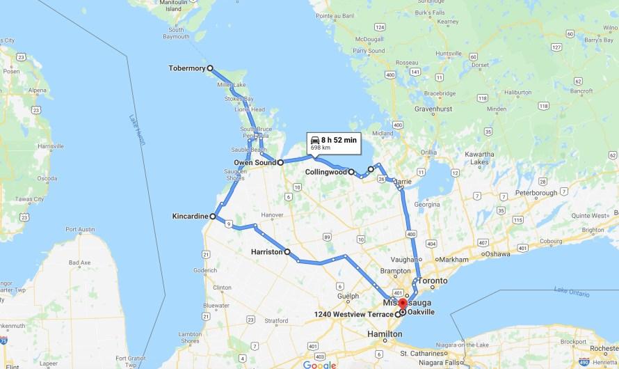 Случайное канадское путешествие
