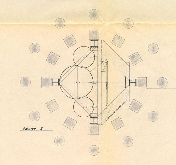 Lantern cross section