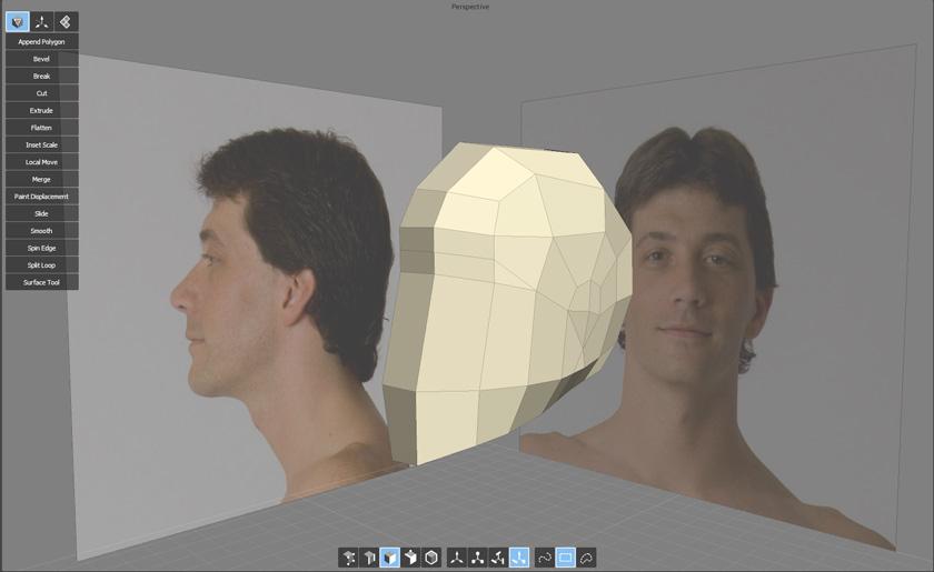 Subdividing the head
