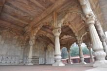 Detalhes internos do pavilhão da chuva (Pavilhão Bhadon)