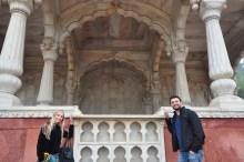 Nós e o pavilhão Bhadon.