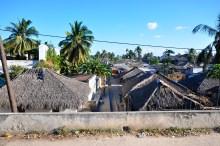 Visão geral da cidade de Macuti
