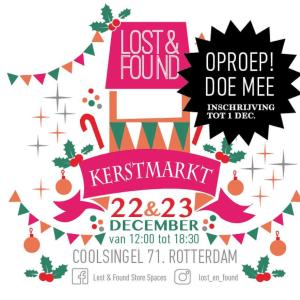 Kerstmarkt Coolsingel @ Lost&Found conceptstore