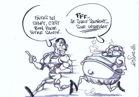 Caricature – le sport