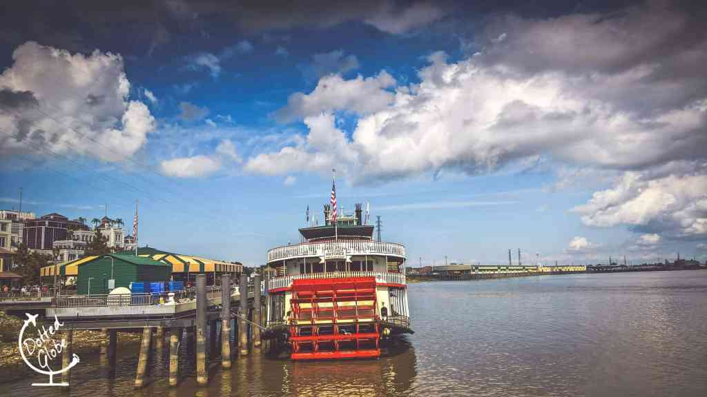 Steamboat Natchez cruise is popular with people of all ages and a fun thing to do in New Orleans with teenagers