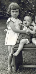 Dottie Jean and Sonny, summer, 1947