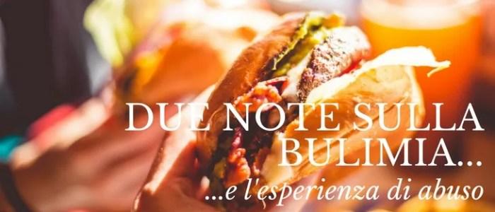 Due note sulla bulimia e l'esperienza di abuso