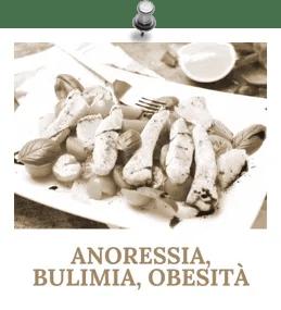 Pagina specifica sui disturbi alimentari