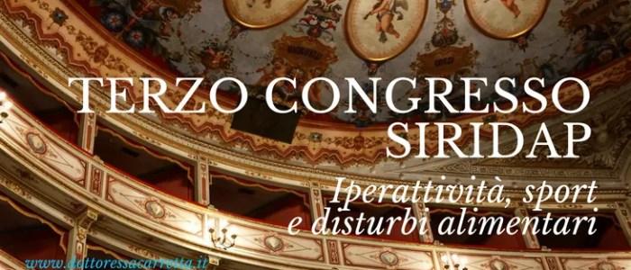Sport e disturbi alimentari nel congresso Siridap a Todi