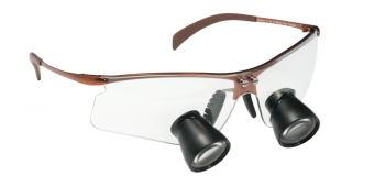 Occhiali q-optics per l'osservazione della carie e di altre patologie dentali