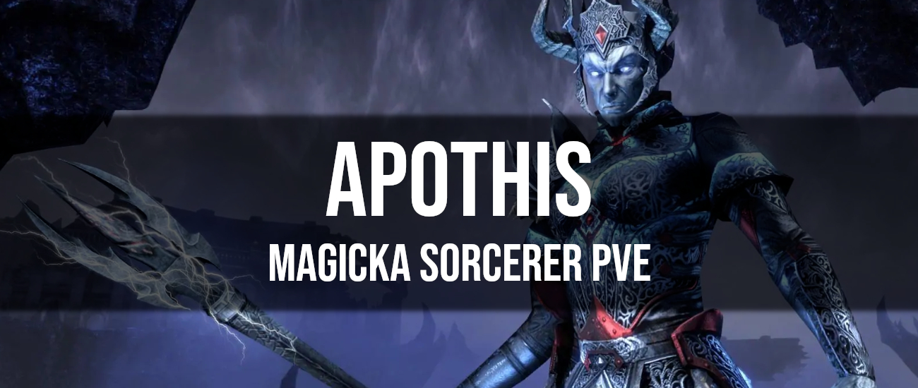 Apothis – Magicka Sorcerer PvE Build - Dottz Gaming