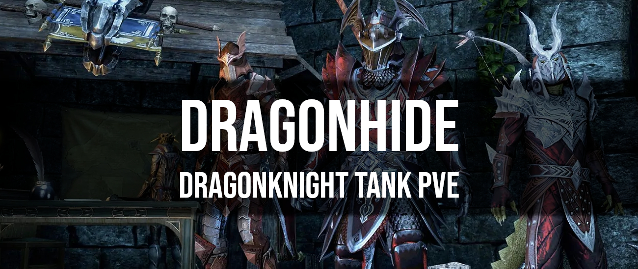 Dragonhide – Dragon Knight Tank PvE Build - Dottz Gaming
