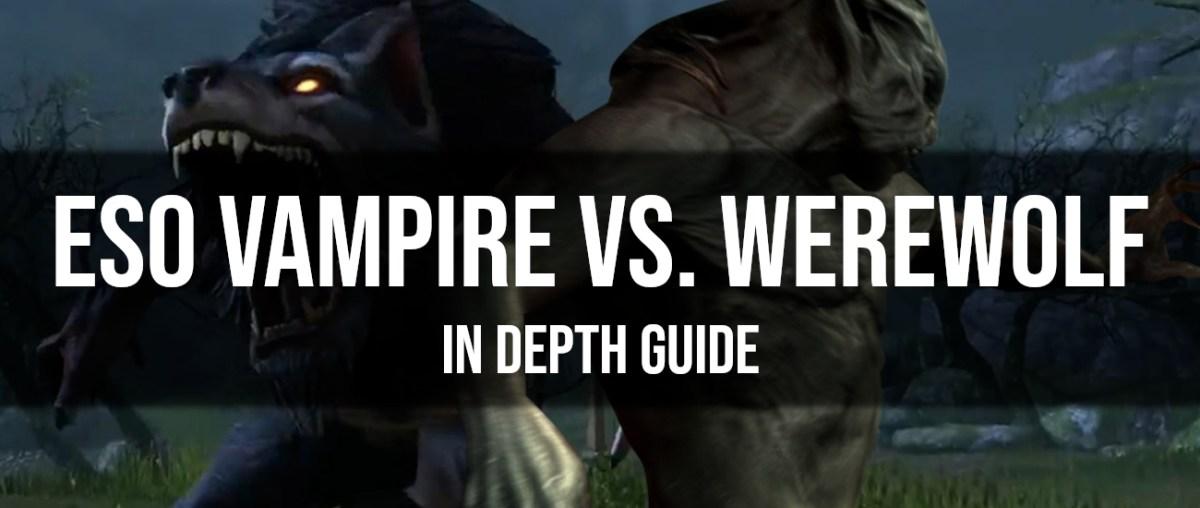 Werewolf Vs Vampire Game