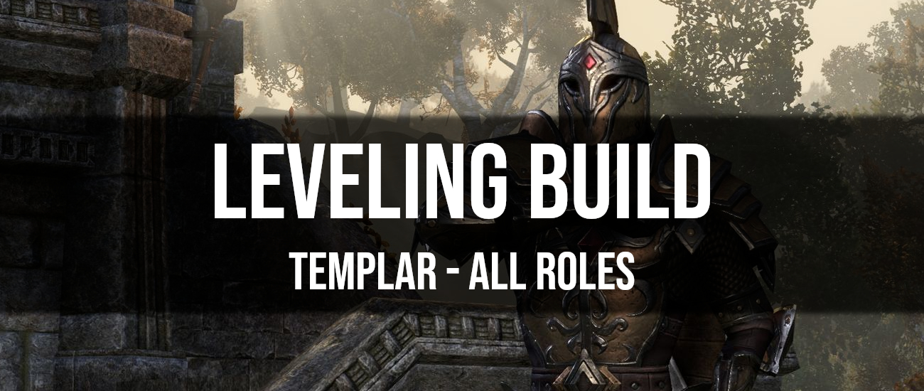 ESO Templar Leveling Build - Dottz Gaming