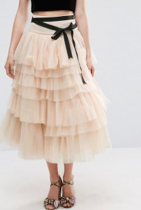 tulle skirt cream 2