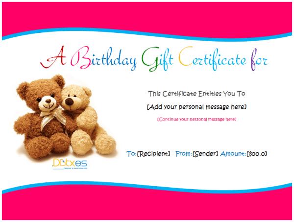 Birthday-Gift-Certificate-(Teddy-Design)