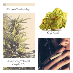 weed wednesday social graphic