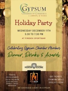 gypsum chamber holiday party