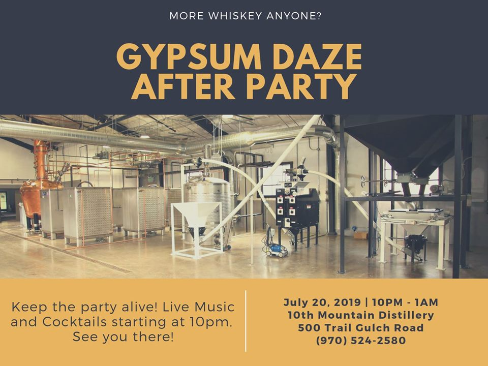 gypsum daze after party
