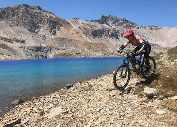 mountain biking endorphin eagle