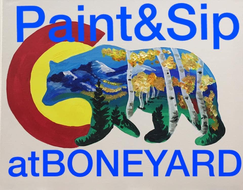 paints and sip boneyard