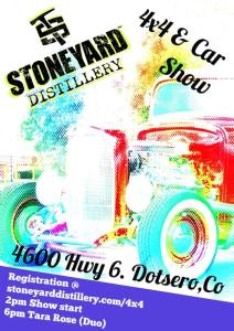 stoneyard distillery car meet