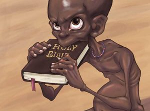 Despre saracie, religii si niste Biblii