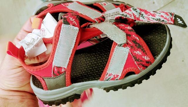 sandale fetițe decathlon