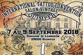 1ère convention internationale de tatouage & Salon Vintage de Quimper