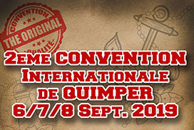 Convention internationale de tatouage Quimper Septembre 2019