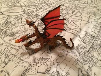 Dragon takes London