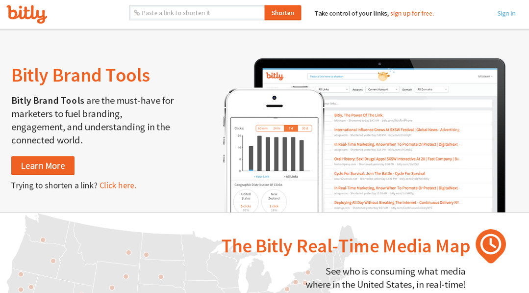Bitly screen grab Red Platypus