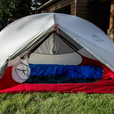 MSR Hubba Hubba 2 Person  Backpacking Tent