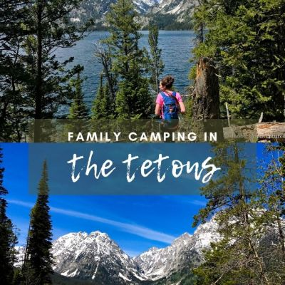 Family Camping in Grand Teton National Park