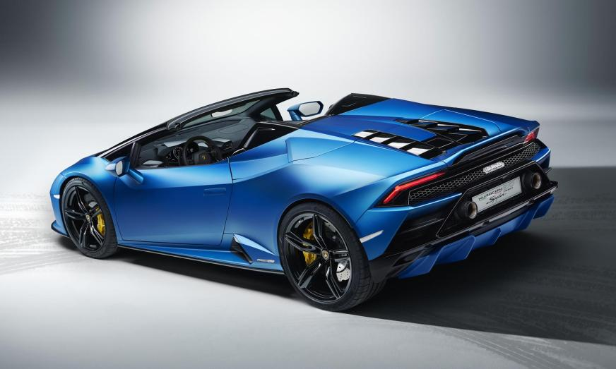 Huracan Evo RWD Spyder debuts today with 449 kW and 560 N.m