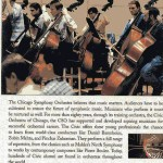 Civic Orchestra of Chicago Bass Section 1998