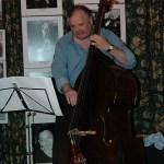 double bass man