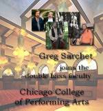Greg Sarchet now on faculty at Chicago College of Performing Arts