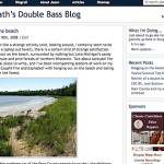 New look for doublebassblog.org