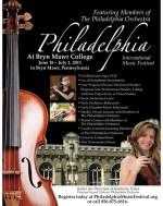 Joseph Conyers to teach at Philadelphia International Music Festival