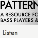 Bass: Learn, Make, Listen – PATTERNROOT