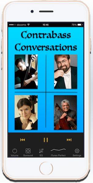 The Contrabass Conversations app is coming soon!