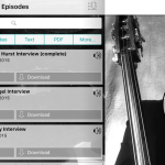 The Contrabass Conversations app has arrived!