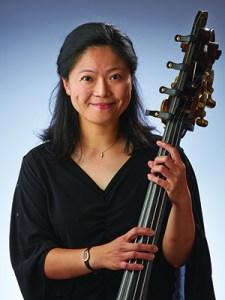 Indianapolis Symphony principal bassist Ju-Fang Liu